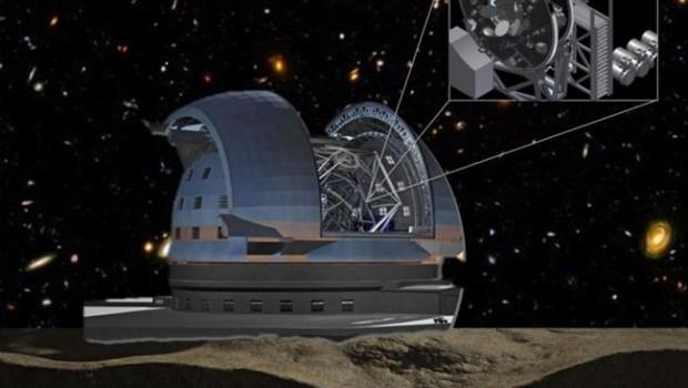 ep instrumento mosaic del futuro telescopio elt