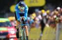 ep 19 july 2019 france pau spanish cyclist alejandro valverde of movistar team in action during the thirteenth stage of the 106th edition of the tourfrance cycling race a 272 km individual time trial in pau photo david stockmanbelgadpa