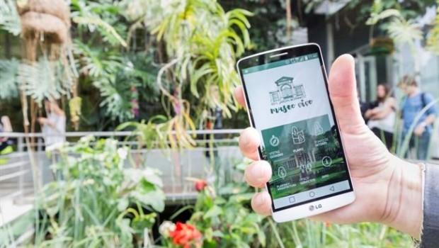 El jard n bot nico estrena una 39 app 39 con la que ofrece for Informacion sobre el jardin botanico