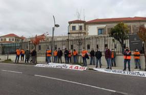 ep protesta de trabajadores de alu iberica
