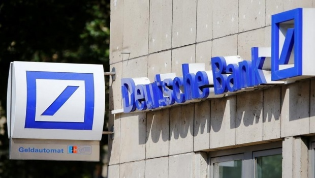Deutsche Bank Q1 Profit Surges, Revenues Weak; Stock Down