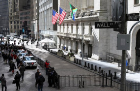 ep february 27 2020 - new york ny usa new york stock exchange building wall streets main indexes