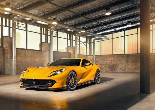Figura de continuación alcista en Ferrari