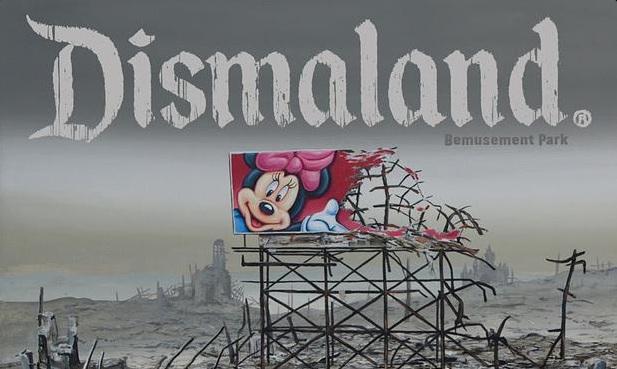 Dismaland, Banksy
