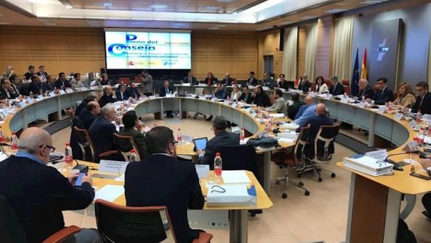 ep pleno del consejo superior de seguridad vial celebrado este lunes 21 de octubre en la sede de la