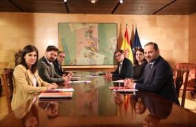 ep segunda reunion de las delegaciones negociadoras de psoe y erc en torno a la investidura de pedro