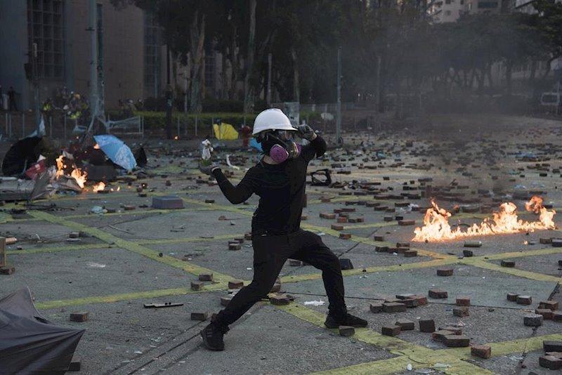 ep disturbios en hong kong