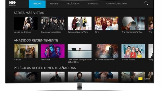 ep samsung smart tv televisiones hbo espana streaming juegotronos westworld