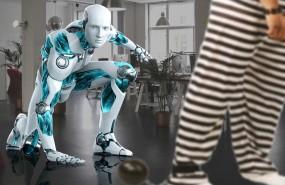 robot roba trabajo