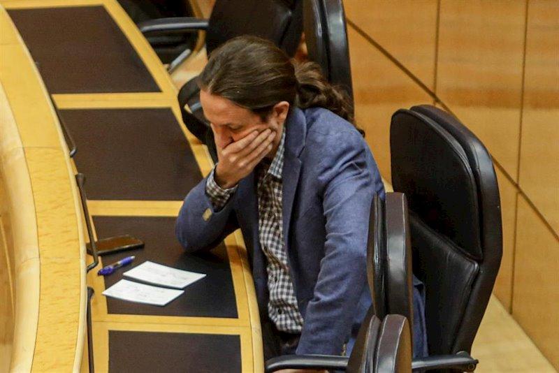 """Iglesias recomienda """"pomadita"""" a los que no quieren a Podemos gobernando España y tienen """"deseos golpistas"""""""