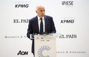ep hilario albarracin presidente de kpmg espana en el vi foro del consejero